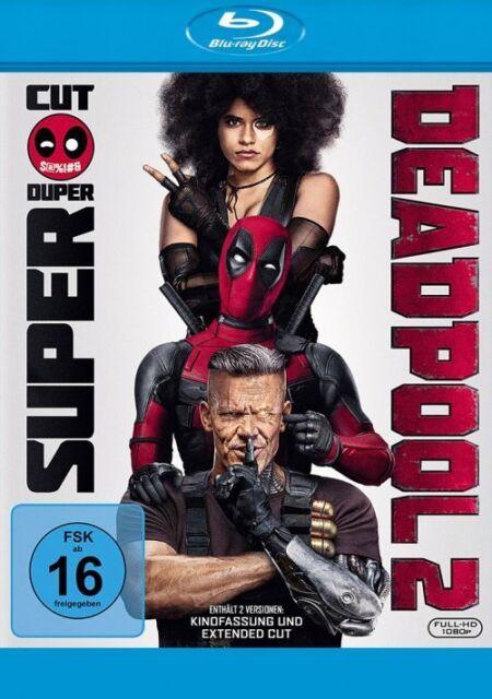 Deadpool 2 #  Super Duper Cut + Kinofassung - 2 Blu Ray