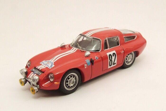 MODEL BEST BES9416 - Alfa Romeo TZ1 1er Critérium des Cévennes  1 43