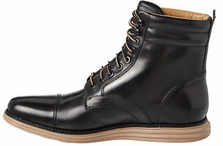 COLE HAAN Men's Men's Men's LUNARGRAND Leather avvio nero C13661 Dimensione 8 C13661 46df15