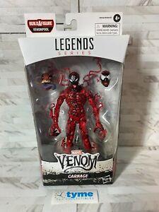 "Marvel Legends Hasbro Spider-man Venom Movie Venompool BAF CARNAGE 6"" Figure"