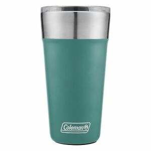 Coleman-Brew-Tumbler-20oz-Seafoam-Blue-Insulated-Stainless-Steel-Cup-Camping