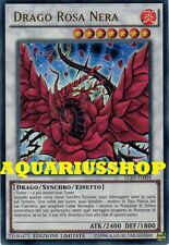 Yu-Gi-Oh Drago Rosa Nera LC05-IT004 UltraRara in ITA Black Rose Dragon Fortissim