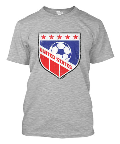 World Cup futbol Olympics Mens T-Shirt United States Soccer Badge