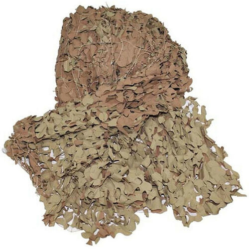 Original british camouflage net khaki various sizes army sand beige