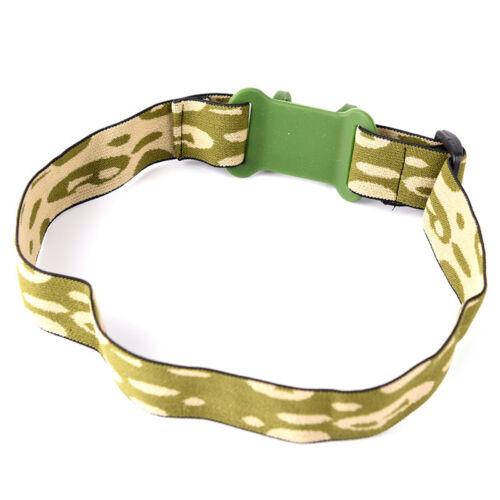 Head Strap Headband For 18650 Headlight Flashlight Lamp Torch Head LS
