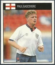 ORBIS 1990 WORLD CUP COLLECTION-#059-ENGLAND & TOTTENHAM HOTSPUR-PAUL GASCOIGNE