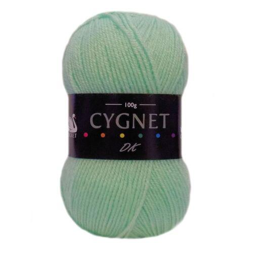 Cygnet DK doble Knitting 100/% Acrílico Hilo de Lana 100g bolas de Punto Crochet Artesanal