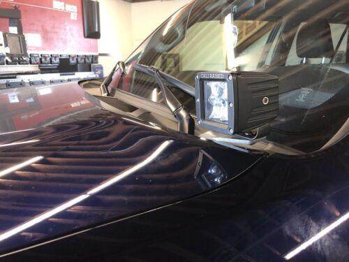 2009-2018 TOYOTA 4RUNNER DITCH LIGHT LED POD HOOD BRACKETS