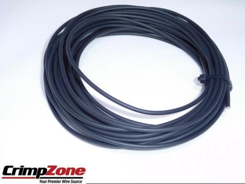 BLACK 8 GAUGE GXL AUTOMOTIVE WIRE  HIGH TEMPERATURE  COPPER  USA 25 FEET