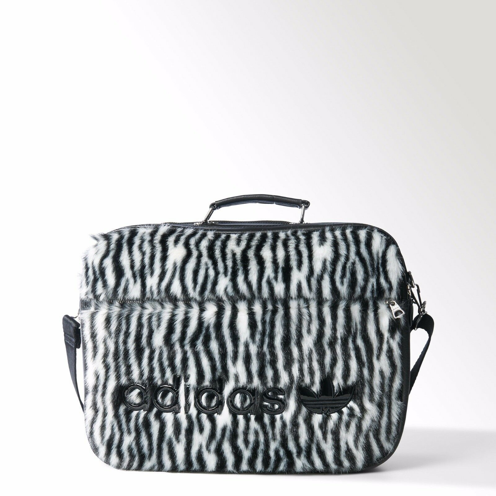 Adidas Originals Jeremy Scott Unisex Faux Hair Airliner Bag S19806