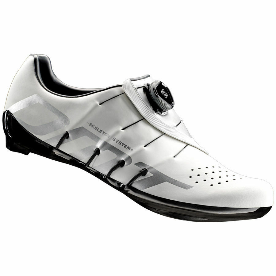 Schuhe CICLISMO CICLISMO Schuhe DMT RS1 colore BIANCO ARGENTO 527a4b