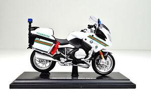 Details Zu Bmw R 1200 Rt Polizei Portugal Massstab 1 18 Motorradmodell Von Maisto