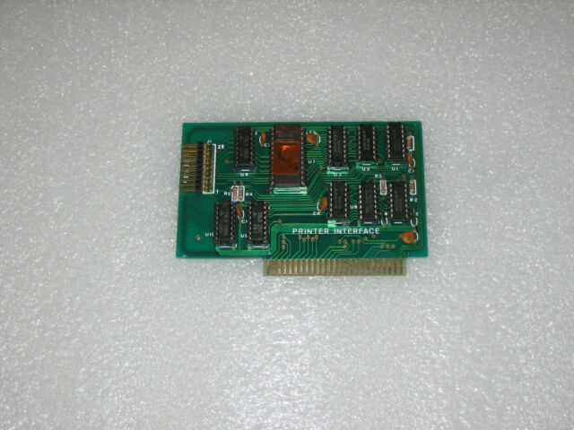 Vintage Apple 2 II plus 2e IIe 2gs IIgs and Compatibles Printer Card