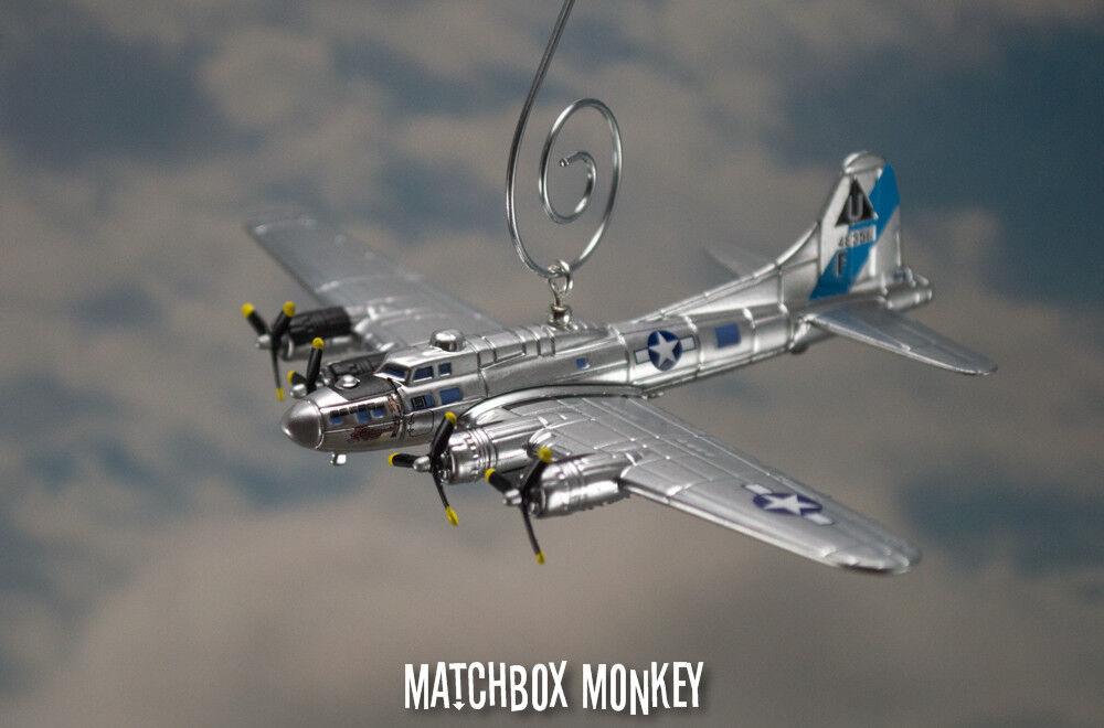 Todos los productos obtienen hasta un 34% de descuento. B-17 de la Segunda Guerra Guerra Guerra Mundial bombardero fortaleza voladora USAF viaje sentimental ornamento de Navidad B17  selección larga