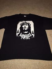 "UNITED BY HATE ""Indulgence In Sacrilege"" RARE XL T-SHIRT devourment disgorge"