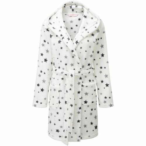 Cameo Women/'s Supersoft Fleece Dressing Gown Bath Robe Cosy Loungewear 10-20