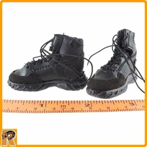 Zone de quarantaine agent-bottes noires 1//6 Scale-Multifun figures pour pieds