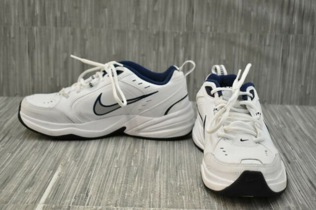 Nike Air Monarch IV 415445-102 Training Shoes, Men's Size 9, White