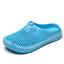 thumbnail 9 - Mens Womens Slip On Slippers Hollow Beach Sandals Clogs Garden Flat Shoes Casual