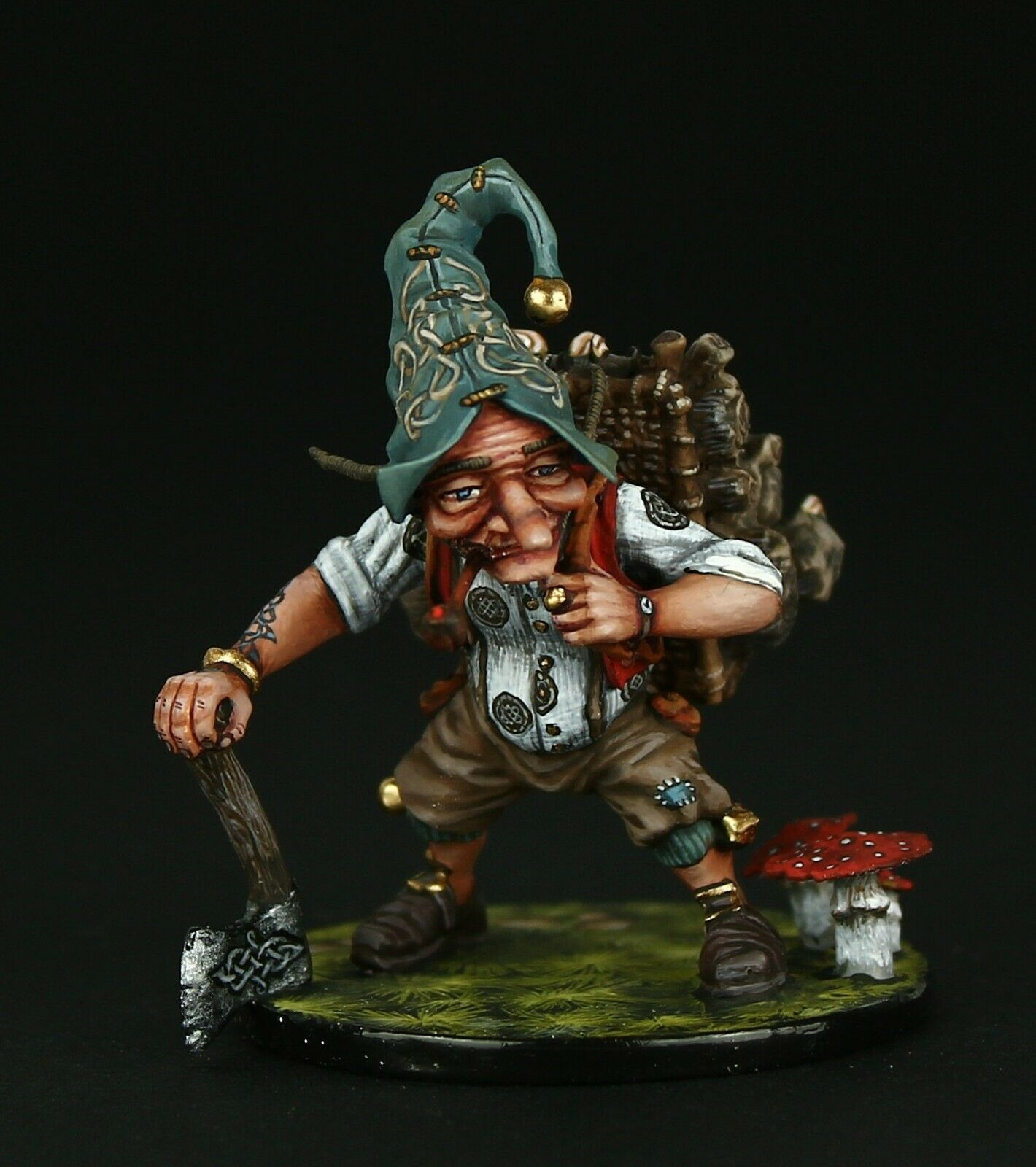 Tin Soldier, Museum (TOP), Ulf the Lumberjack, 54 mm, Fantasy Worlds