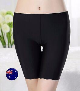 Women-Lady-Summer-Silky-feel-undie-Shorts-Safety-Underwear-Short-Pants-Pantie