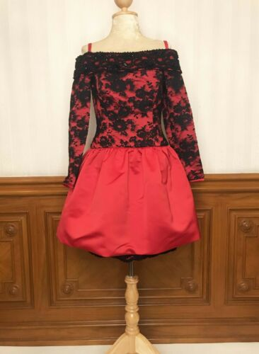 Vintage YT By Travilla Saks Fifth Avenue Lace Prom
