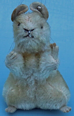 Affidabile Originale Steiff Pieps Mouse #4308.00 Con Pulsante Rialzato Silverscript-