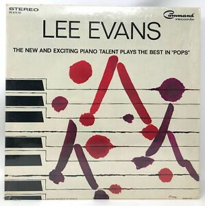 Lee-Evans-Exciting-Piano-Plays-the-Best-In-Pops-1964-Stereo-vinyl-LP-w-Shrink-NM