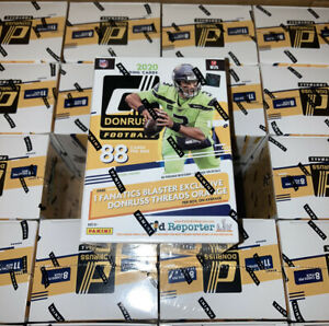 2020-Donruss-Football-11-Pack-Blaster-Box-SEALED-Fanatics-Exclusive-SHIPS-TODAY