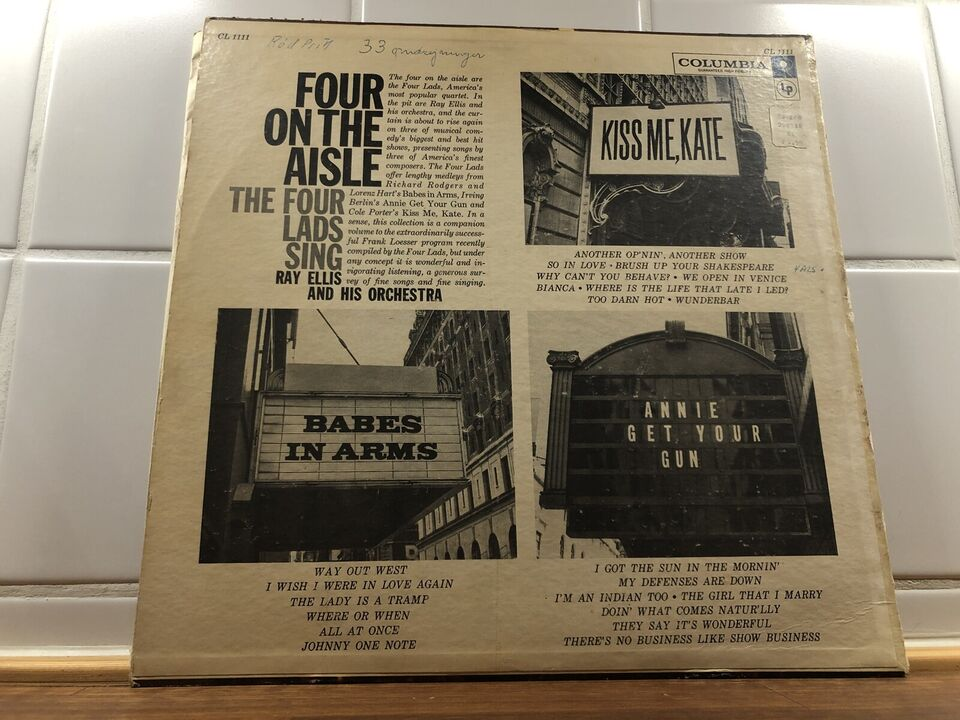 LP, The Four Lads With Ray Ellis And His Orchestra, The Four