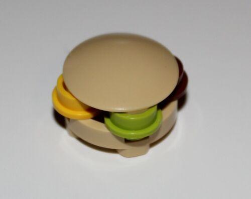 Lego 2x Sponge Bob Krabby Cakes Minifig Food NEW
