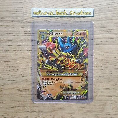 Rare Crimson Invasion GREAT Condition Lucario 54//111 Holo//Shiny Pokemon Card