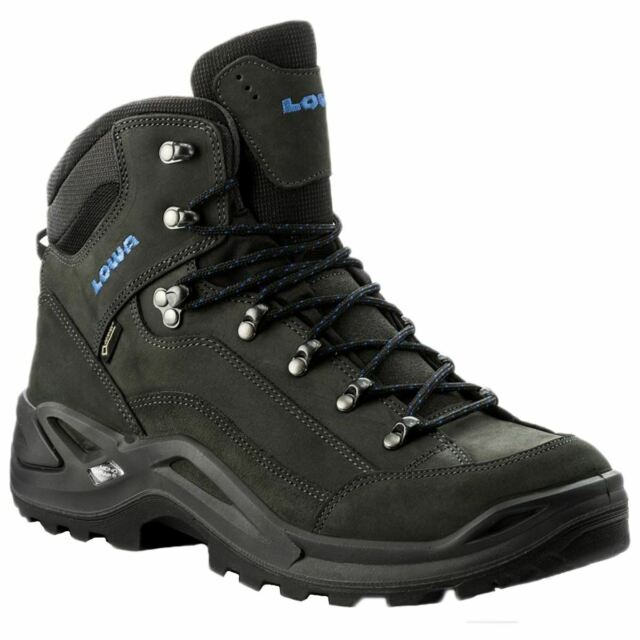 LOWA Renegade Gore tex Mid Espresso Berry Womens Nubuck Hiking Ankle BOOTS 10 for sale online | eBay