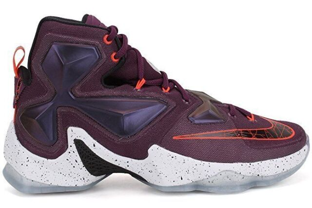 3a0e2a7a5a1 Nike Lebron XIII 13 Mulberry Mens 807219-500 Purple Basketball Shoes ...