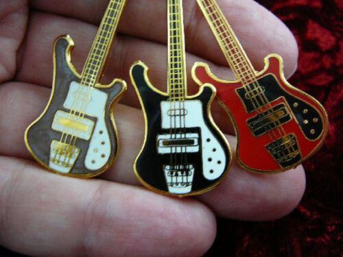 pick 1 of 6 colors RICKENBACKER Bass Guitar PENDANT NECKLACE Jewelry M311-E