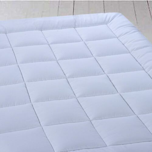 Royal Plush Mattress Topper 2 Inches Overfilled Down Alternative Anchor Bands