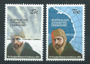 Australie-Territoire-antarctique-N-53-54-MNH-1982-Explorateur