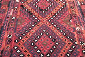 Tapis-Afghan-Kilim-Laine-sur-laine-262-x-207-cm-Afghan-rug-Kilim-wool