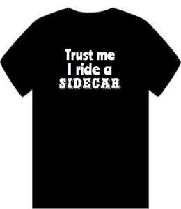 Trust-Me-I-Ride-un-sidecar-para-hombre-T-Shirt-Funny-Equitacion-Traje-Moto-Bike-Papa