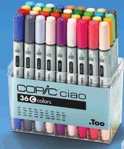 SET C 36 Pens Copic Ciao Marker Set