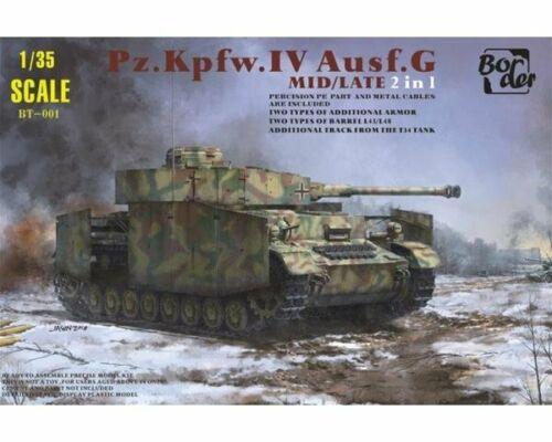 1:35 BORDERMODEL Pz.Kpfw IV Ausf G Mid Late 2 in 1 NEUHEIT