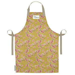 Image is loading Personalised-Apron-Linen-UK-Cooking-Adult-Aprons-For-