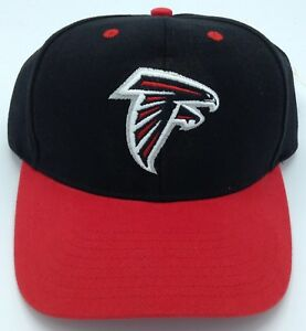 14ba46ca4a6 Image is loading NWT-NFL-Atlanta-Falcons-Adjustable-Curve-Brim-Cap-