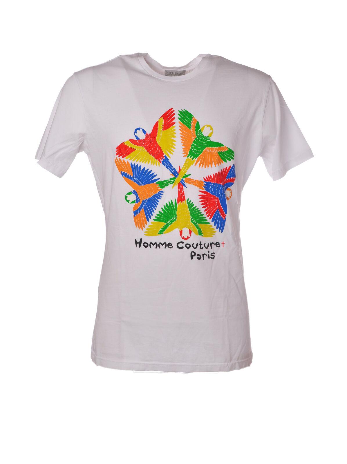 Daniele Alessandrini - Topwear-T-shirts - Man - Weiß - 5052412F183800