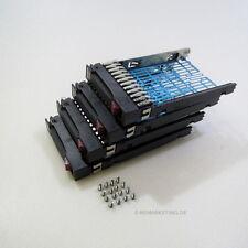 "4 x  2,5"" Hot Swap Tray SATA SAS HDD Caddy Rahmen original HP Proliant G5 G6 G7"