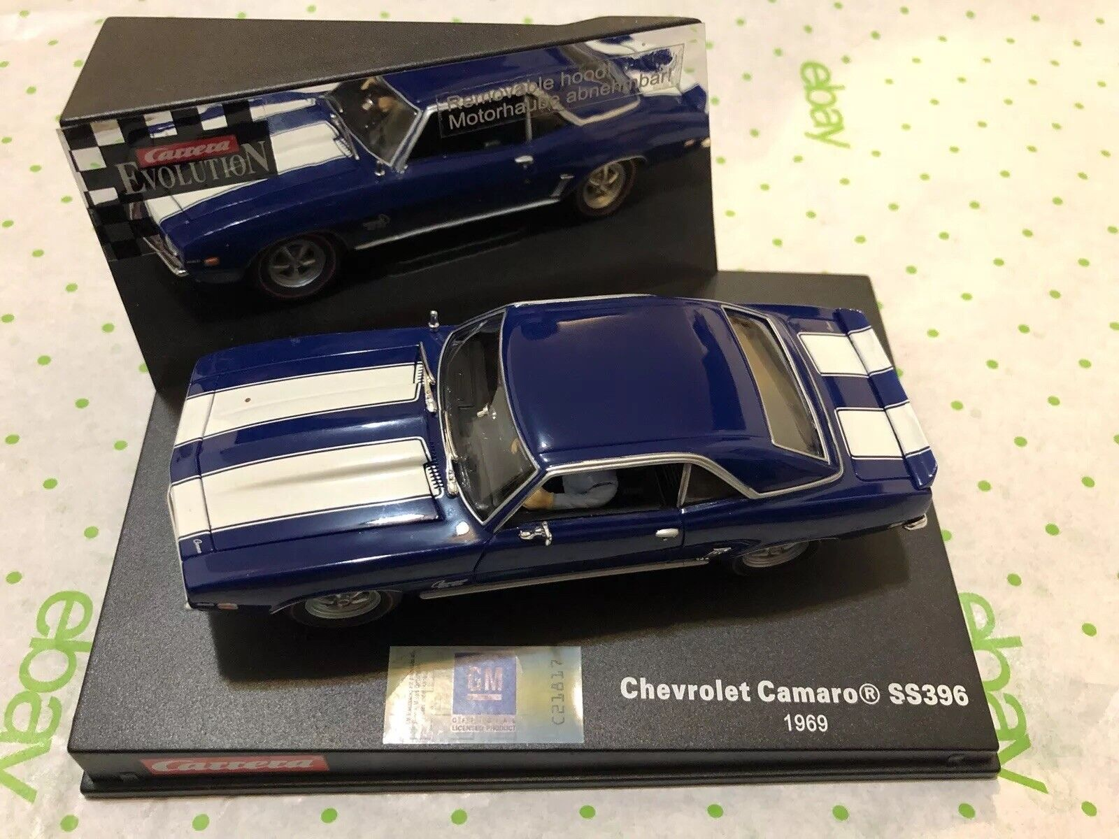 Carrera Evolution Chevrolet Camaro SS396 1969 - Removable Hood