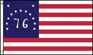 BENNINGTON-3X5-039-BIG-BANNER-FLAG-NEW-36-034-X60-034-BICENTENIAL-039-76-HISTORICAL-AMERICA