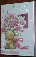 Female 50th birthday card ~ 50 today ~ happy 50th birthday