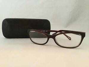 d4b4b314767 Image is loading Fossil-Corrin-Glasses-Frames-FM3-145-With-Case-