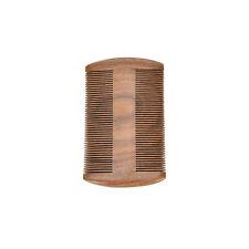 Natural Handmade Sandalwood Anti-Static Pocket Comb Beard Mustache Hair Brush WB